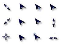 在windows系统中,使用的鼠标指针文件被称为