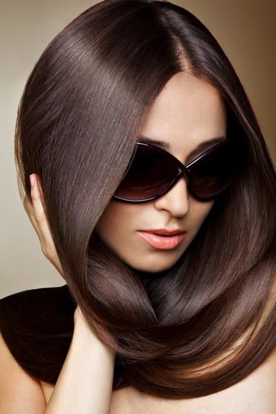 时尚柔美长发发型图片-zol素材下载